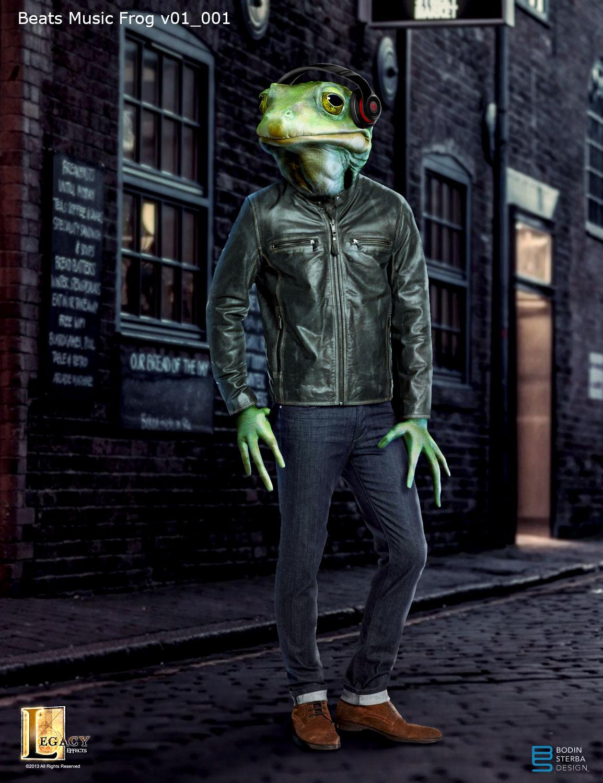 Beats Music- frog concept
