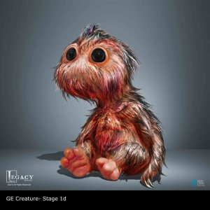 GE Creature infant- final design stages