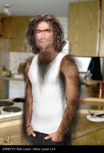 DIRECTV Crazy Hairy Rob Lowe