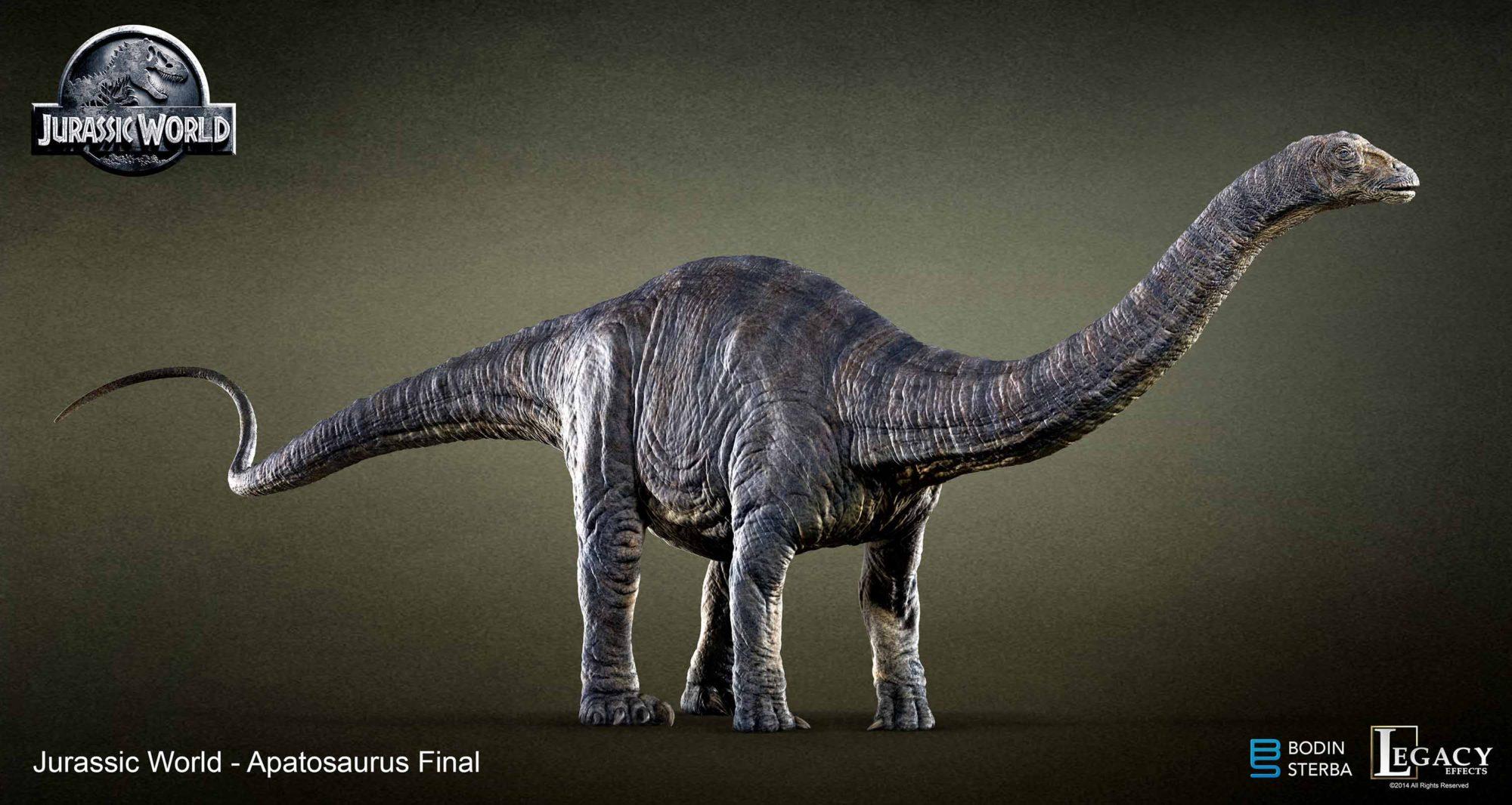My Jurassic World Apatosaurus final design.