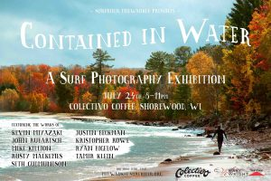 Contained in Water poster. Photo by Ryan Bigelow.