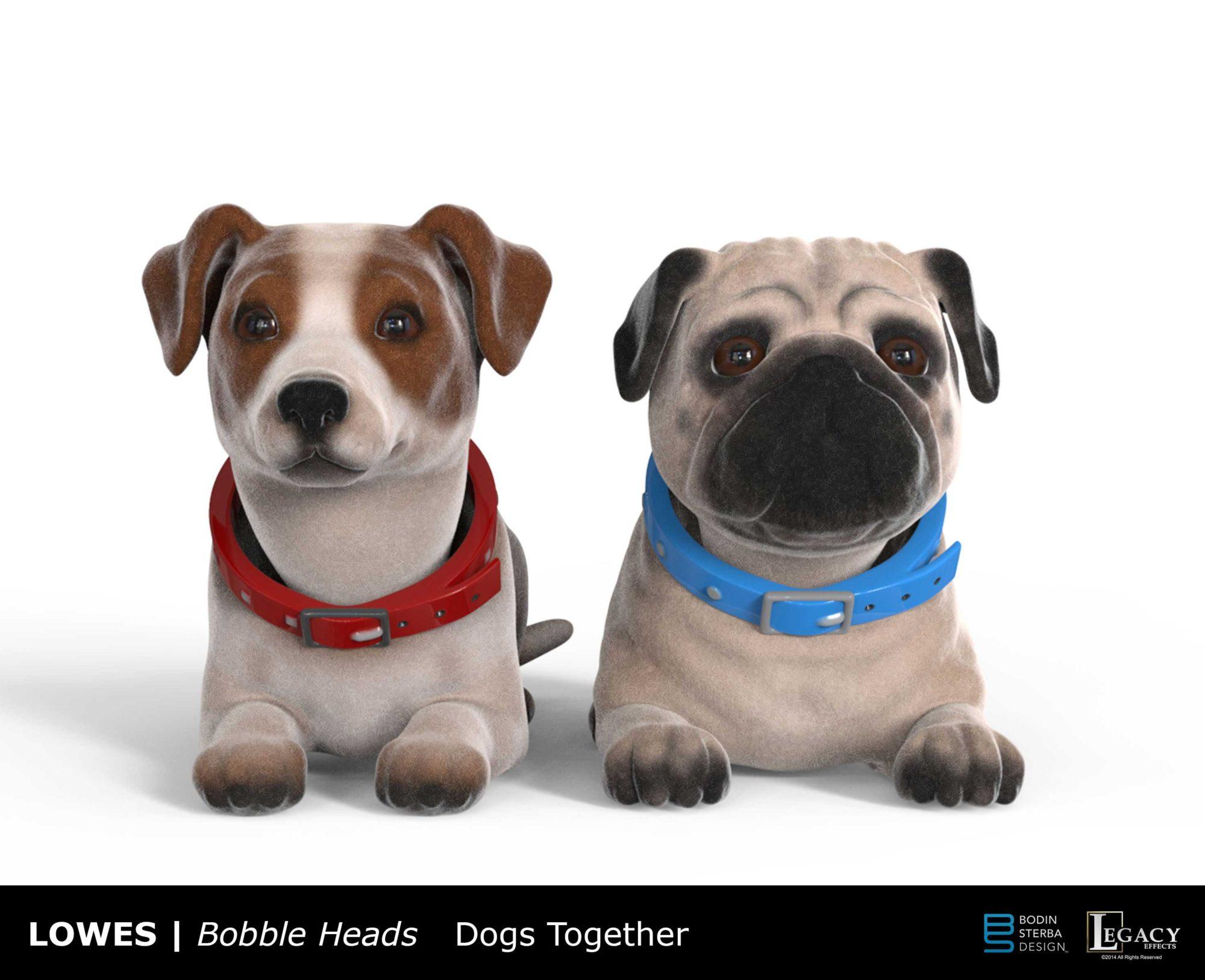 lowes bobblehead dogs designs bodin sterba design