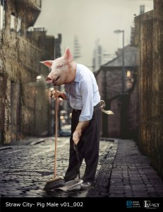 """The Real Cost Commercial: """"Straw City"""" Shop Owner Pig"""