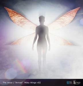 The Voice Season 11 Promo- Miley Cyrus wings
