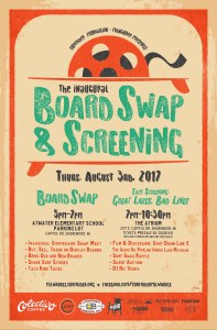 Surfrider Foundation-Milwaukee Board Swap & Screening poster