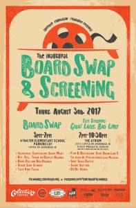 Surfrider Foundation-Milwaukee Board Swap & Screening poster