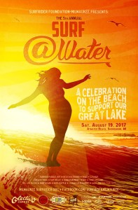 5th Annual Surf @Water poster