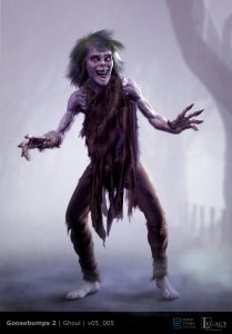 Goosebumps 2 ghoul design