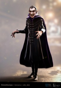 Goosebumps 2 final vampire design