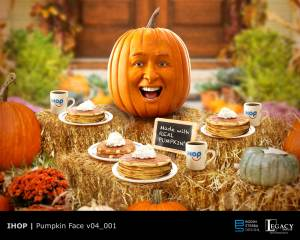 "IHOP design for ""Pumpkin"" spot"