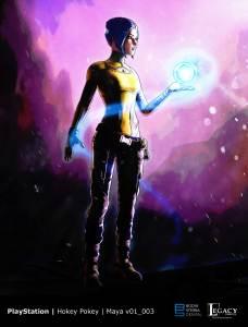 "PlayStation ""Borderlands 2 VR: Maya"" prelim design"