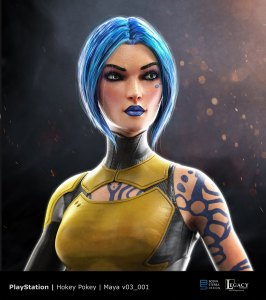 "PlayStation ""Borderlands 2 VR: Maya"" design"