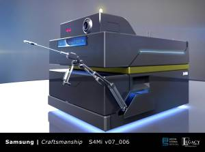 """Samsung Galaxy: Our Galaxy"" robot design"