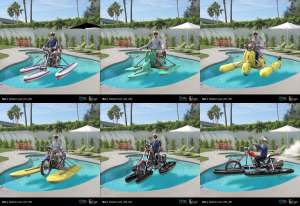 Bai Boatorcycle early concepts