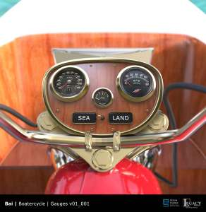 Bai Boatorcycle instrument panel