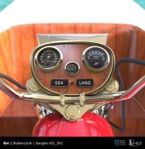 Bai Boatorcycle instrument panel
