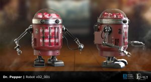 Dr Pepper robot preliminary design