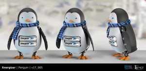 Energizer penguin final design
