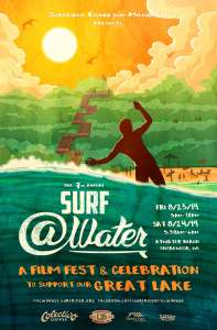 7th annual Surf @Water poster
