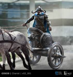 Oikos Ares chariot design