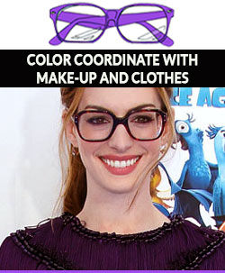 Color-Coordinate-eye-glasses-with-makeup-and-clothes