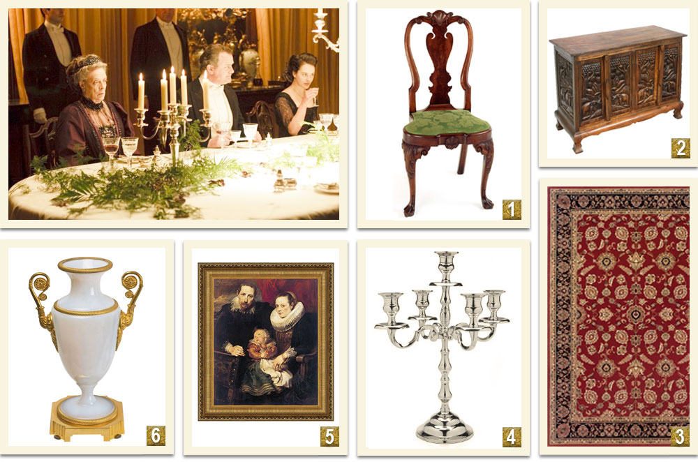 Downton-Abbey-Decor-Inspiration-From-The-Dining-Room