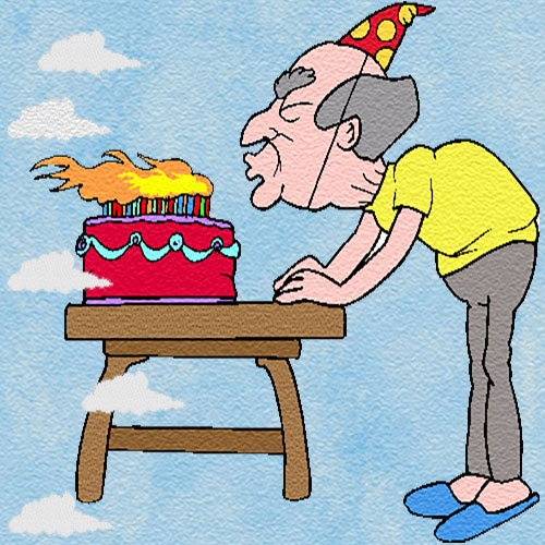 why relighting birthday candles make a blowcake