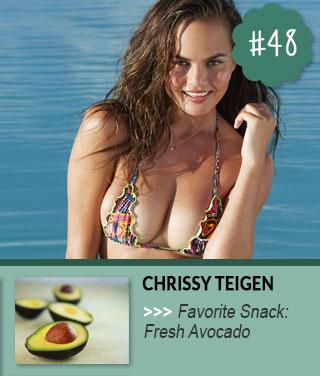 Chrissy-Teigen-Celebrity-Snacks-Favorites