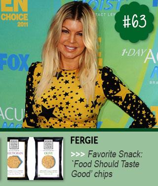 Fergie-of-Black-Eyed-Peas-Celeb-Snack-Favorites