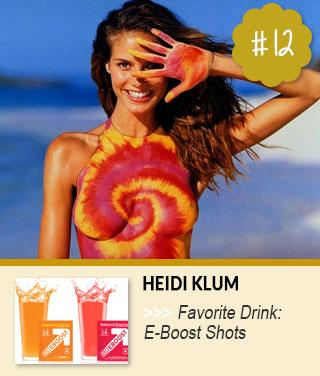 Heidi-Klum-Favorite-Drink