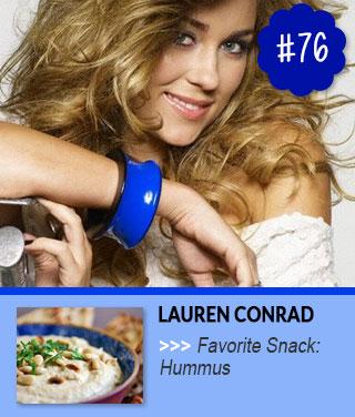 Lauren-Conrad-loves-to-snack-on-hummus