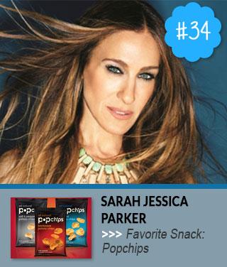 Sarah-Jessica-Parker-Favorite-Snack-Food
