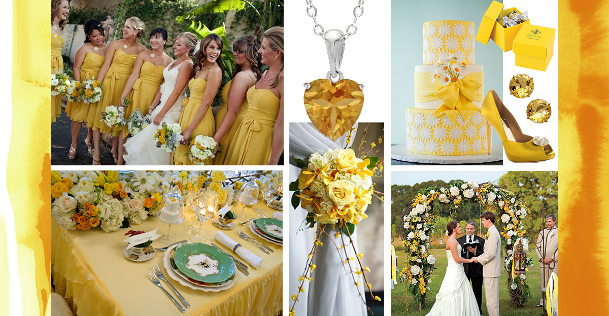 Personality-traits-of-Yellow-Wedding-Color