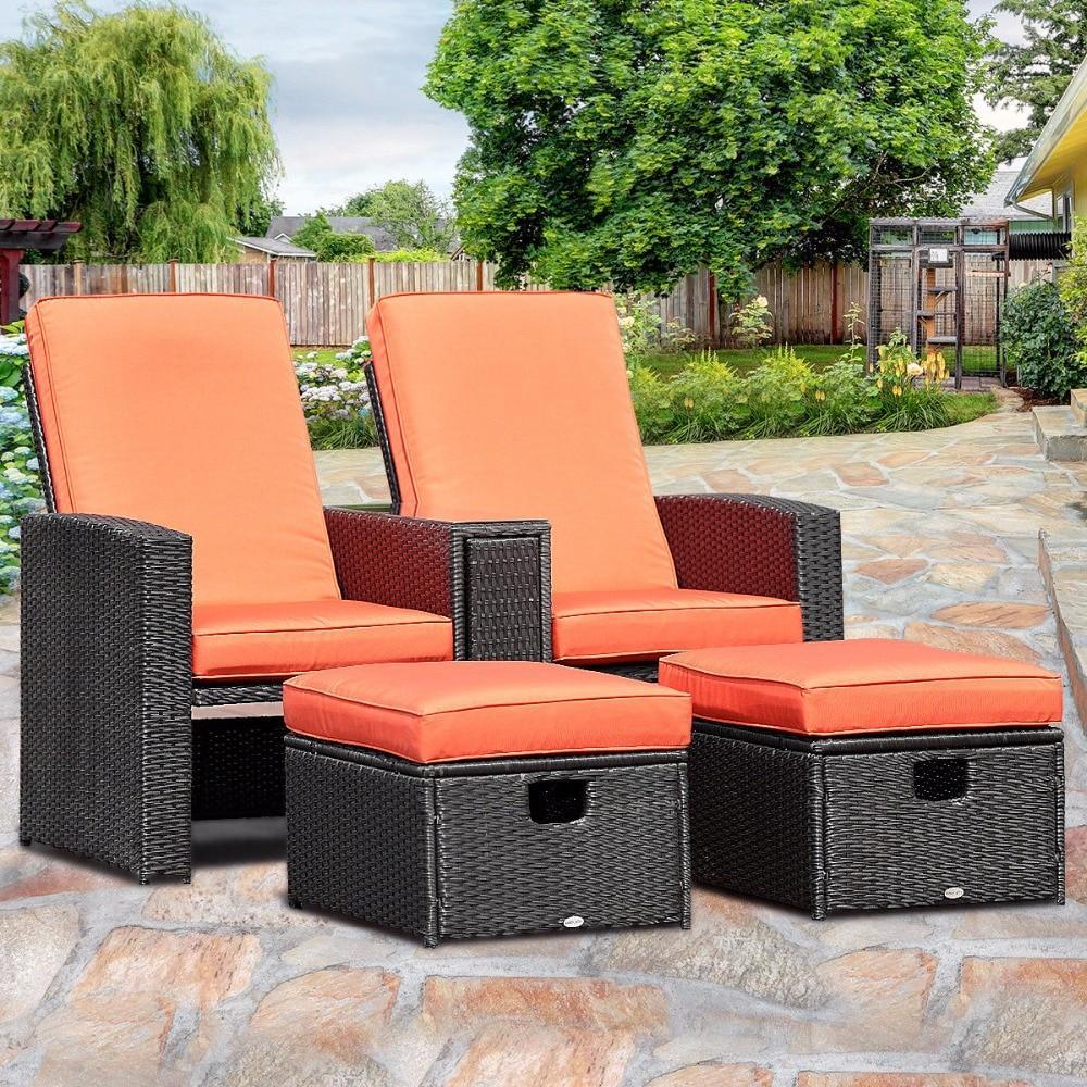 3 piece adjustable backrest recliner