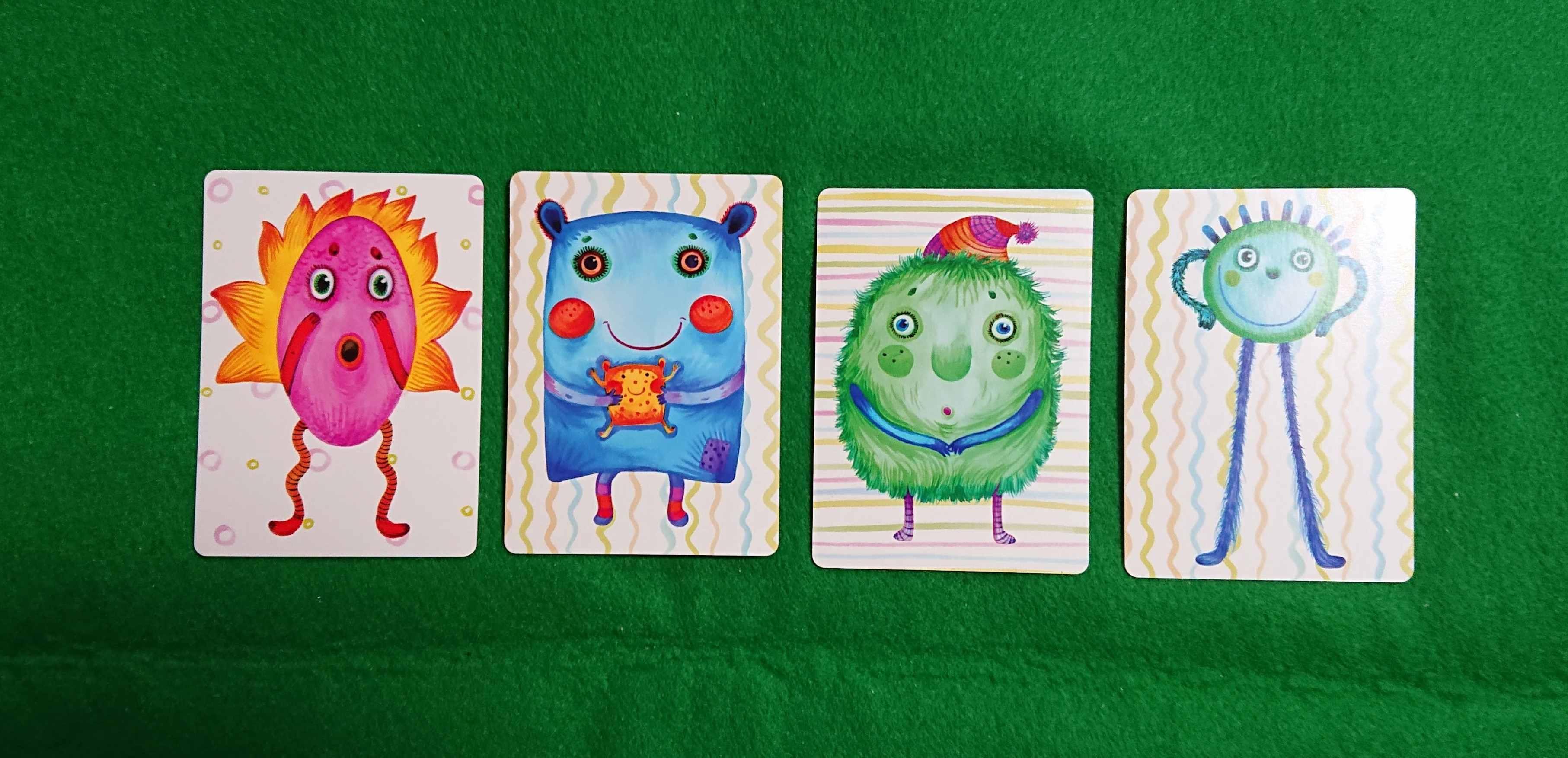 ナンジャモンジャ(緑) 子どもも楽しい初心者向けカードゲーム 名前を付けよう!! ルール説明ボードゲーム