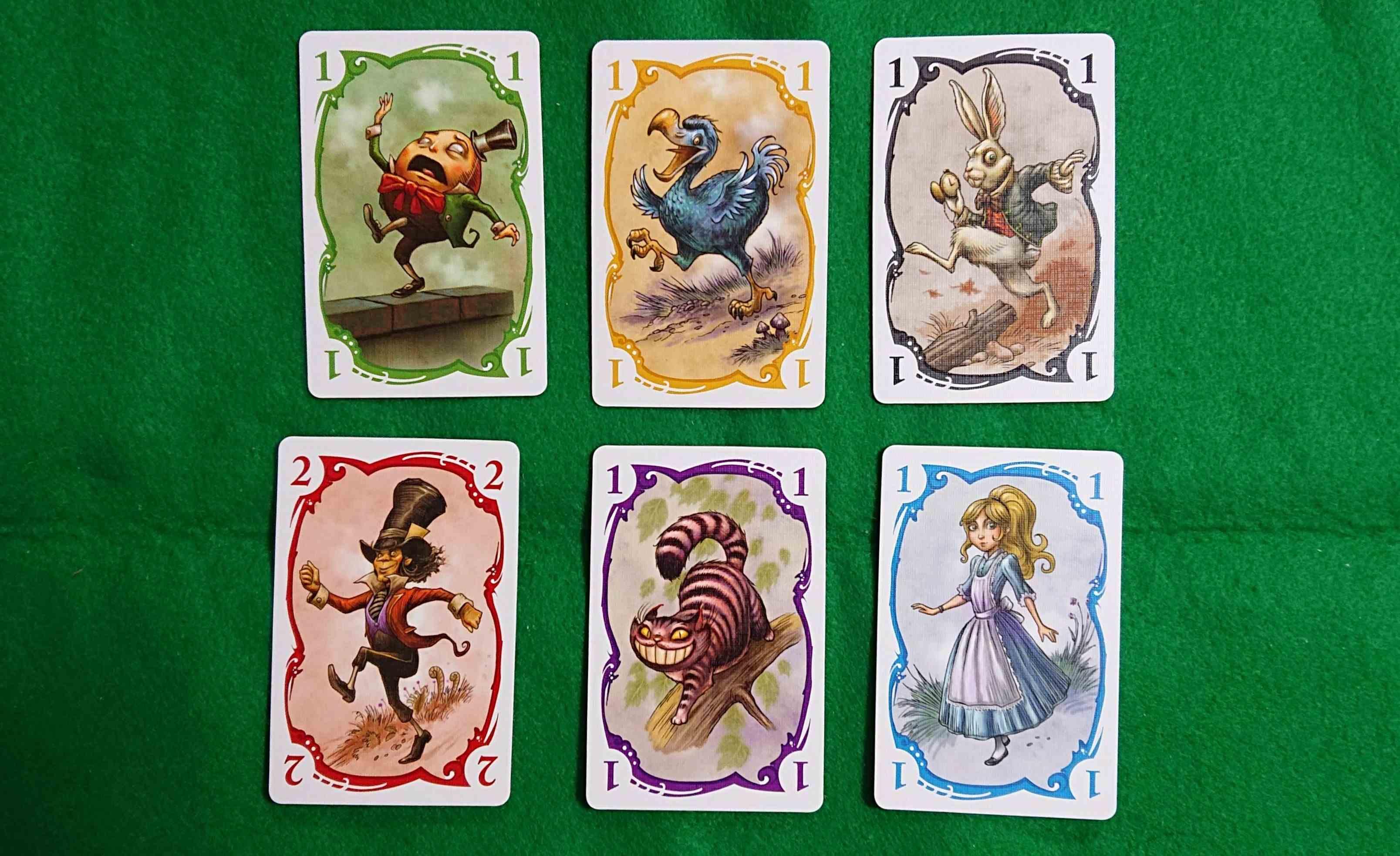 パレード(Parade)カードゲーム 不思議の国で退屈してるのは誰!? ボードゲーム ルール説明