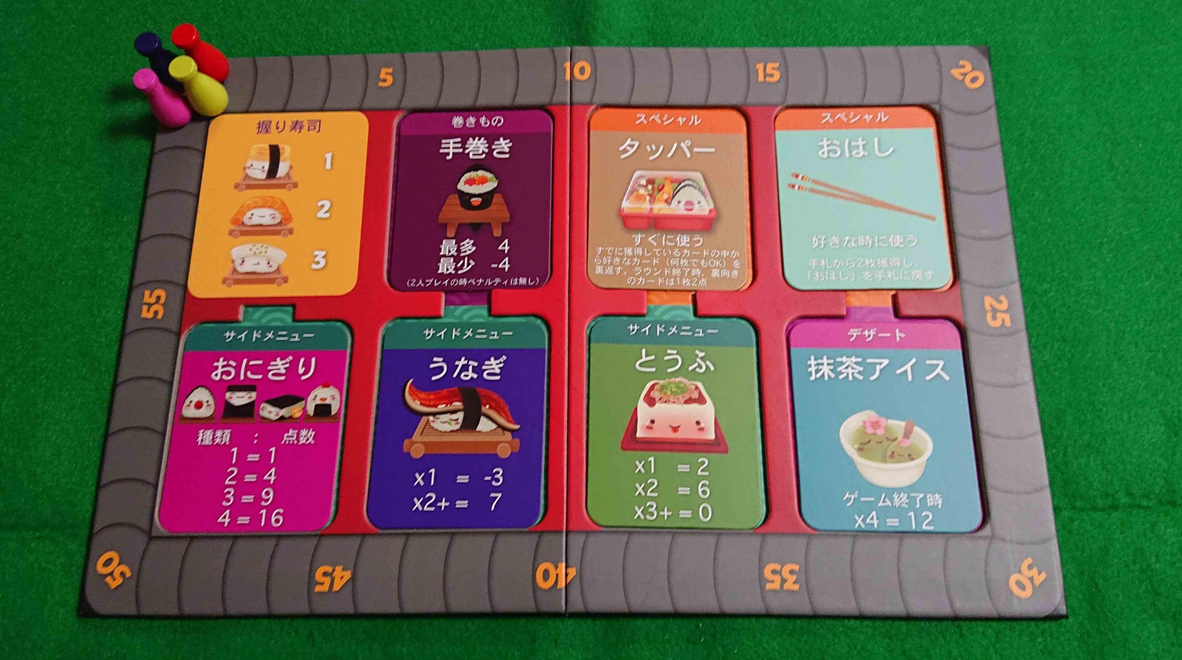 すしごーパーティー! お寿司の種類が増えた「すしごー」 カードゲーム紹介 ルール説明 ボードゲーム