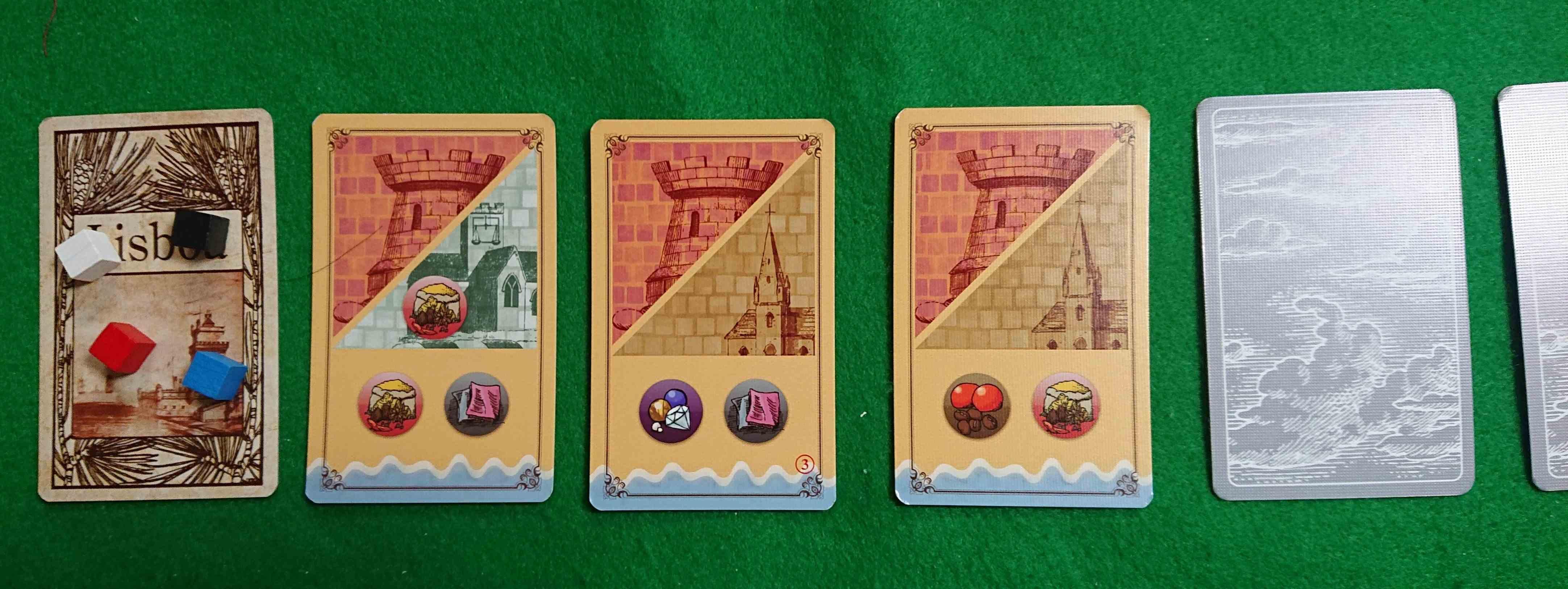 セイルトゥーインディア 最小コンポーネントでじっくり考えられる良質ボードゲーム! 大航海時代インドを目指せ!