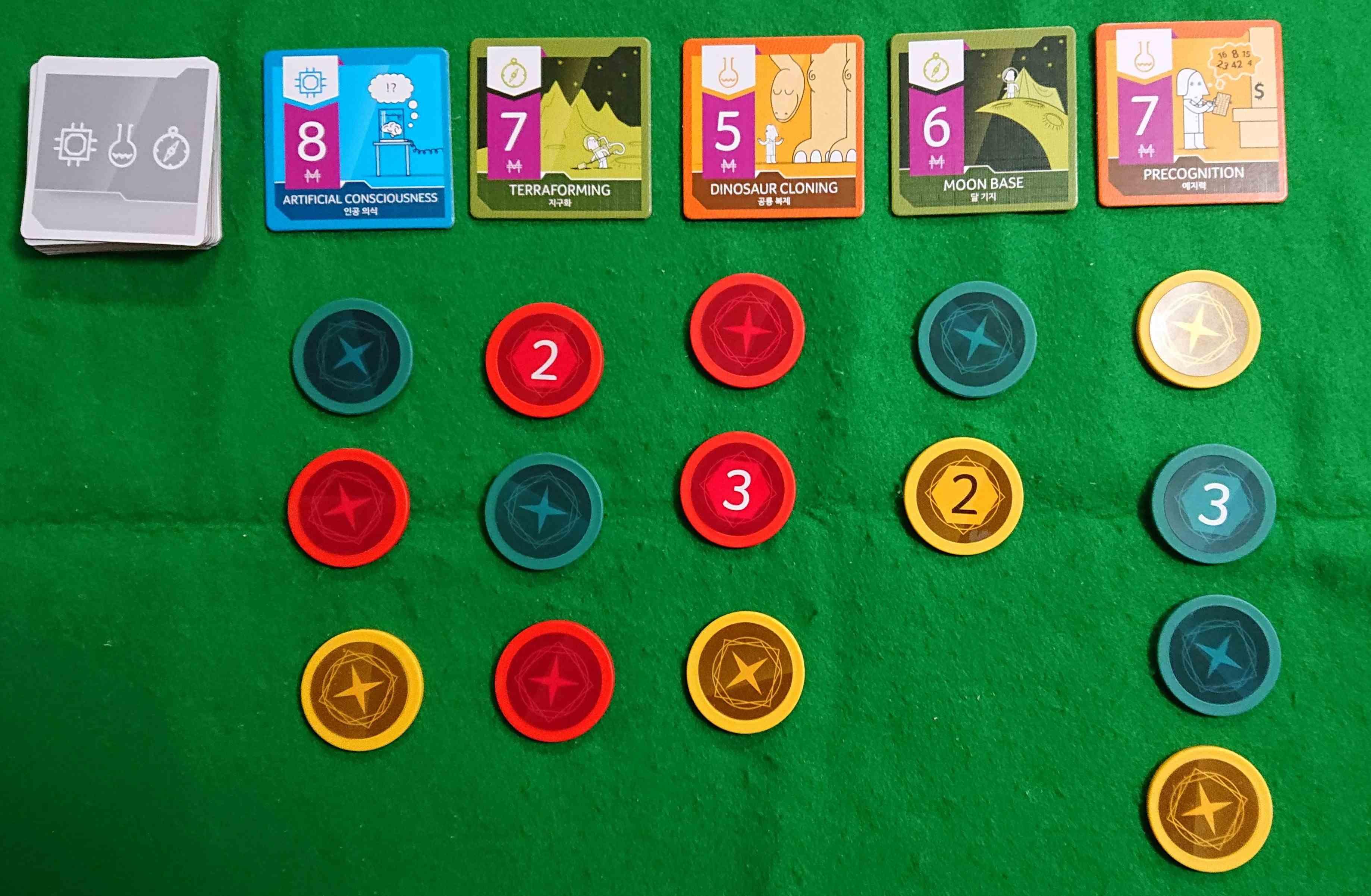 ベンチャーエンジェルス 相手の投資先を見抜きましょう シンプルな心理戦とブラフのボードゲーム