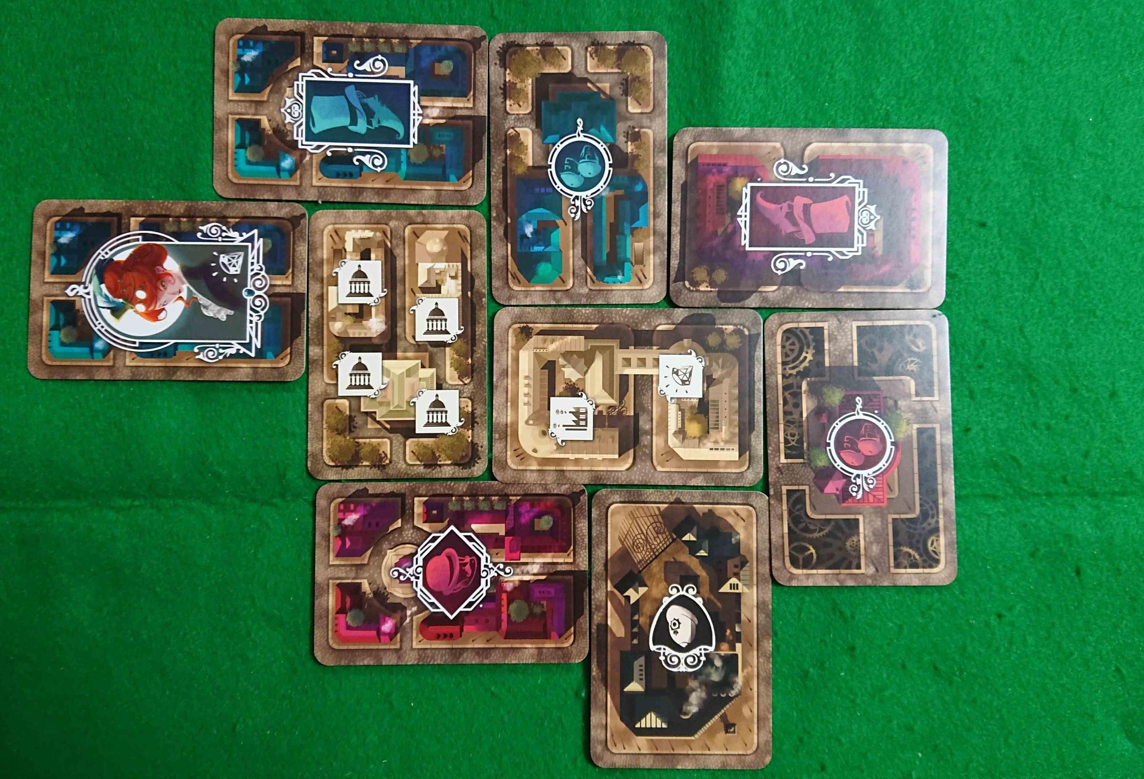 ノックスフォード 手下を使い街を支配せよ! カード配置系カードゲーム ボードゲーム