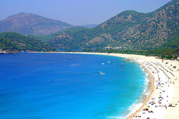 Iss Most Famous Beach Olu Deniz Turkey