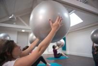 Pilates Ball au centre Qee Boulogne
