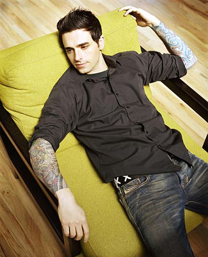 Chris Carrabba In Tattooed Sleeves