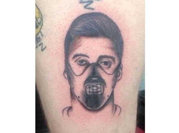 Crazy Fan Allegedly Gets Tattoo Of Luis Suárez