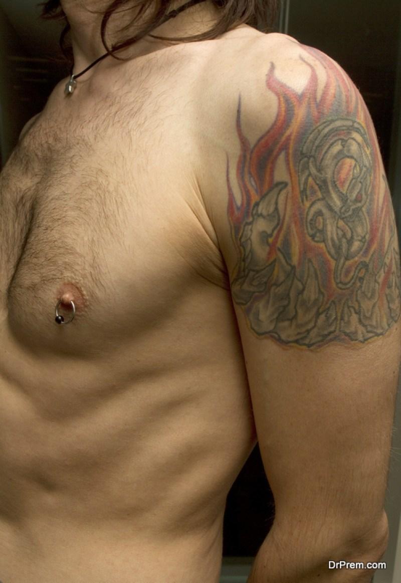 Piercing the Nipple