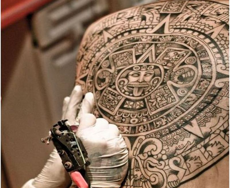 Most Appealing Aztec Tattoo Designs