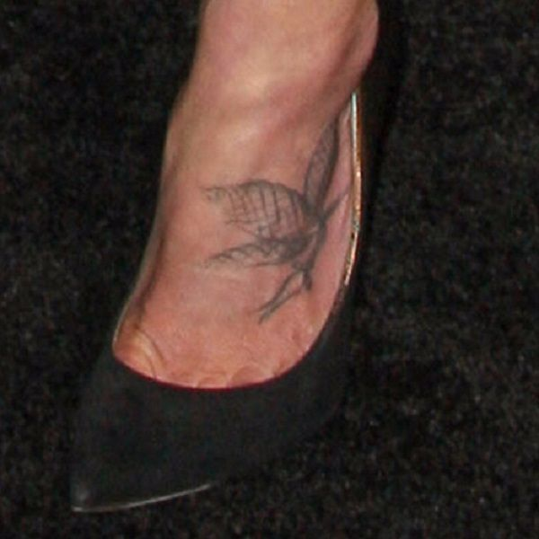 Tattoos Dragonfly Foot Your