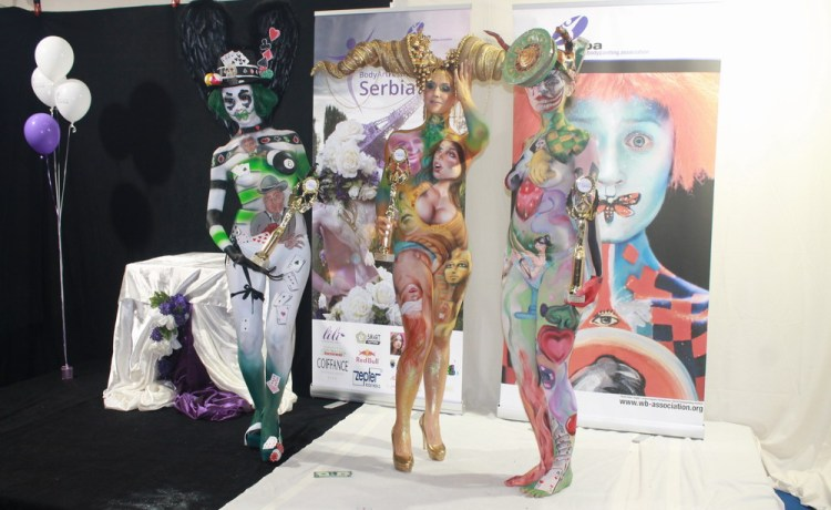 bafs2013 - body painting contest top three