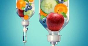 nutrient iv drip large