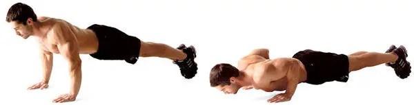 فشار دادن به Triceps
